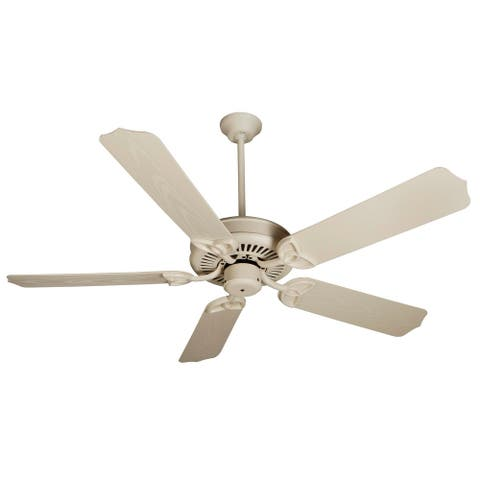 """Craftmade Outdoor 52"""" Patio Fan Indoor / Outdoor Patio 44"""" - 56"""" 5"""