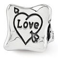 Sterling Silver Reflections Love Marriage Family Trilogy Bead (4mm Diameter Hole) - Thumbnail 0