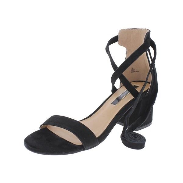 Kensie Womens Terezia Heels Lace-Up Open Toe