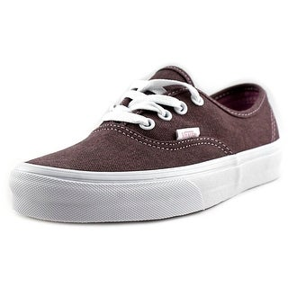 Vans Authentic Women Round Toe Canvas Brown Running Shoe