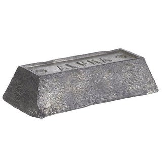 Alpha 56468 Non Electrical Lead Ingot, 5 lb