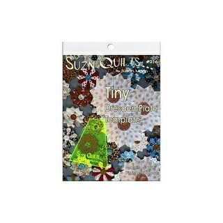 Suzn Quilts Template Tiny Dresden