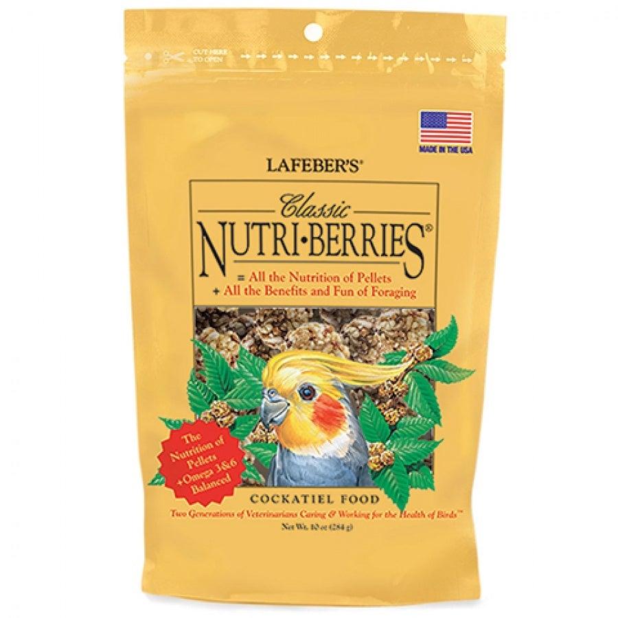 Lafeber Classic Nutri-Berries Cockatiel Food - 10 oz