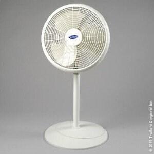 """Lasko 2526 16"""" Adjustable Pedestal Fan, Gray"""