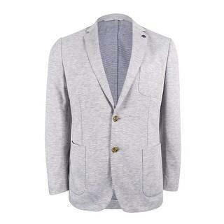 Michael Kors Men's Slim-Fit Knit Blazer (42R, Heather Grey) - Heather Grey - 42r
