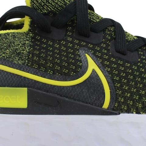 Nike React Infinity Run Fk Black/Sonic Yellow-White Cd4371-013 Men's