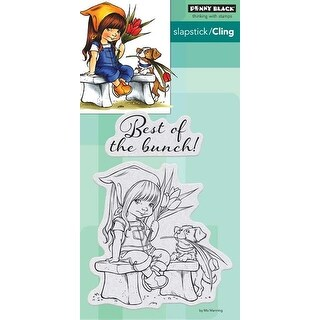 The Bunch - Penny Black Cling Stamps