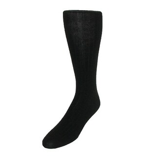 Windsor Collection Men's Merino Wool Over the Calf Dress Socks