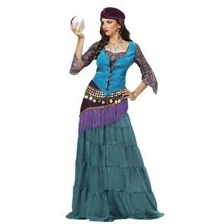Women's Fabulous Fortune Teller Gypsy Costume