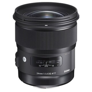 Sigma 24mm f/1.4 DG HSM Art Lens for Canon EF - Black