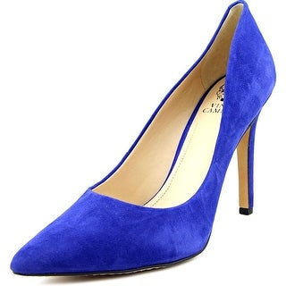 Vince Camuto Kain Pointed Toe Suede Heels