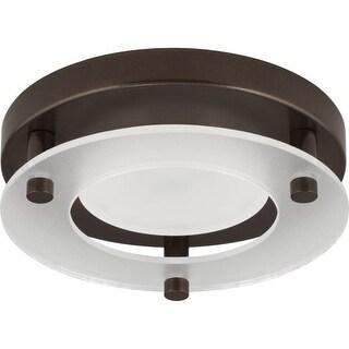 "Progress Lighting P8247-LED LED Flush Mount Light 5-1/2"" Wide Integrated LED Flush Mount Ceiling Fixture with White"