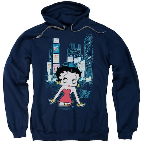 Betty Boop Square Mens Pullover Hoodie