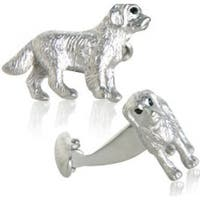 Detailed Dog Cufflinks Animal