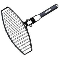 Grillmark 21015 Broiler Grill Fish Basket, Stainless Steel