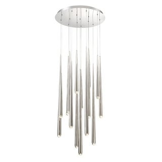 """Modern Forms PD-41715R Cascade 15 Light 23"""" Wide Integrated LED Chandelier"""