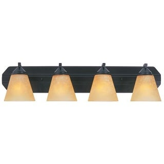 Designers Fountain 6604 400 Watt Four Light Bathroom Fixture from the Piazza Collection