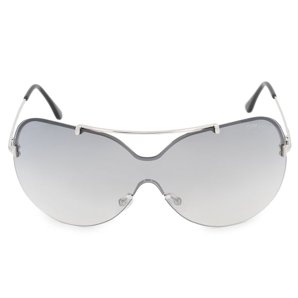 30365d9674 Shop Tom Ford Ondria Shield Sunglasses FT0519 16C 00 - On Sale ...