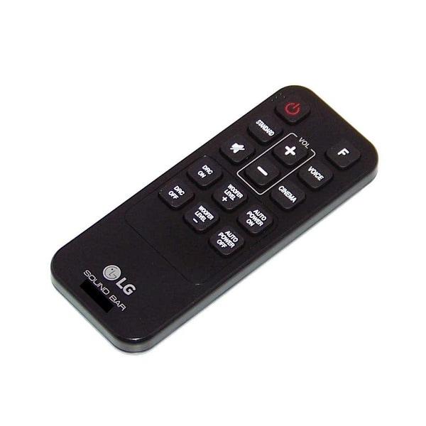 OEM LG Remote Control Originally Shipped With: LAS454B, LAS454