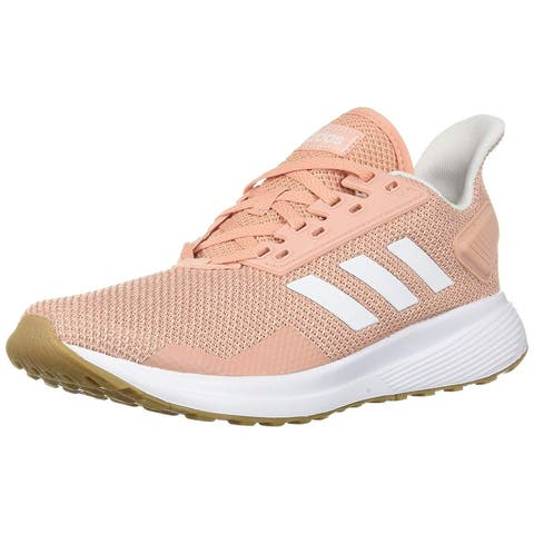 Adidas Womens Duramo 9 Running Shoe, Adult, Dust Pink/White/Clear Orange