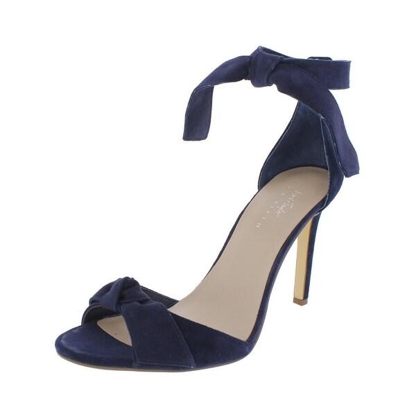 424 Fifth Womens Faye Heels Open Toe Stilettos