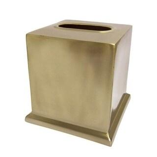 Croscill Maria Metal Bathroom Accessories Tissue Box Cover