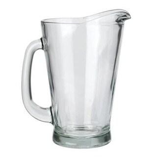 Anchor Hocking 81275 Beer Wagon Pitcher Glass, 55 Oz., Crystal