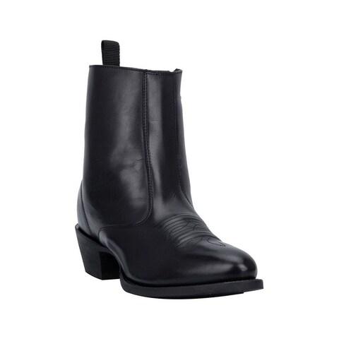 "Laredo Fashion Boots Womens 7"" Shaft Fletcher Round Toe Black"