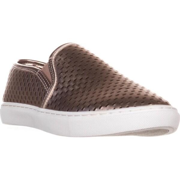 63debfa3c50 Shop Steve Madden Elouise Slip-On Fashion Sneakers, Rose Gold - Free ...