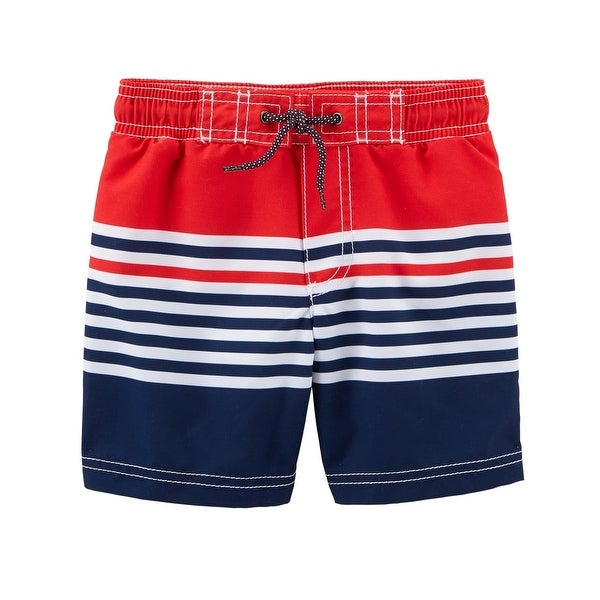 3eb349a9e5 Shop Carter's Baby Boys' Americana Swim Trunks - Free Shipping On Orders  Over $45 - Overstock.com - 26869496