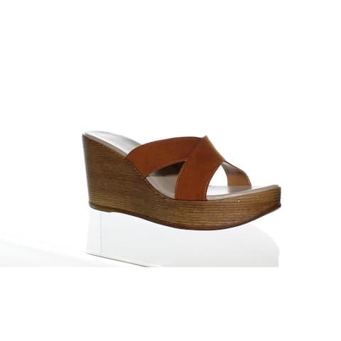 Athena Alexander Womens Rialto Brown Suede Sandals Size 11