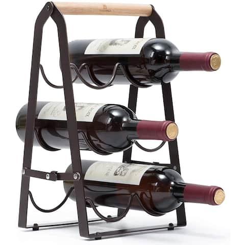 3-Tier Classic Countertop Wine Rack