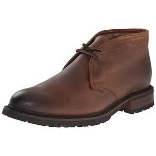 Frye Mens James Lug Chukka Leather Chukka Boots - 9.5 medium (d)