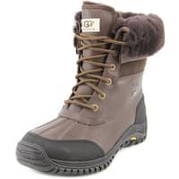 Ugg Australia Adirondack II Women  Round Toe Leather Brown Winter Boot