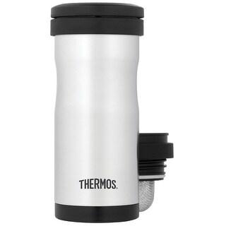 Thermos vacuum insulated tea tumbpler w/ infuser 12 oz