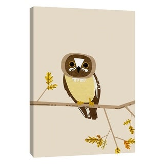 """PTM Images 9-108729  PTM Canvas Collection 10"""" x 8"""" - """"Owl"""" Giclee Owls Art Print on Canvas"""