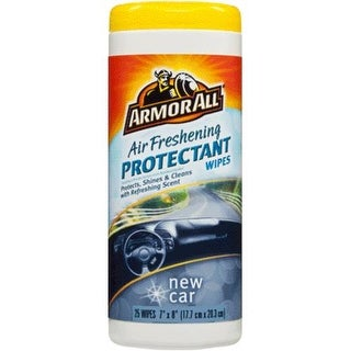 Armor All 78533 New Car Air Freshening Protectant Wipe