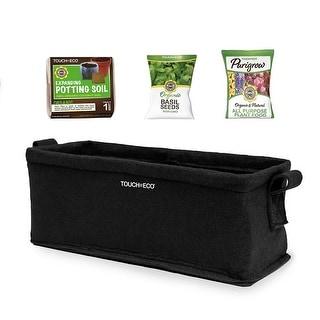 Herb Planter Box Kits with Soil Block - Basil, Parsley or Oregano