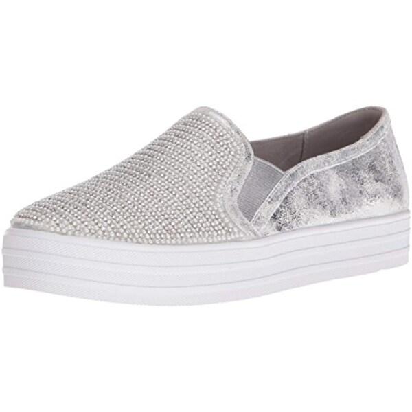 Shop Skechers Women s Double Up Shiny Dancer Fashion Sneaker - Free Shipping  Today - Overstock.com - 27122188 62b5e114d096