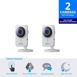 2-Pack SNH-1011REF - Samsung SmartCam IP Camera (Manufacturer Refurbished)