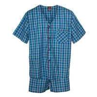 Hanes Big and Tall Short Sleeve Short Leg Pajama Set