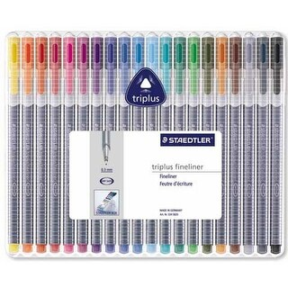 Staedtler/Mars - Triplus Fineliner Pen Set - 6-Color Set - Neon