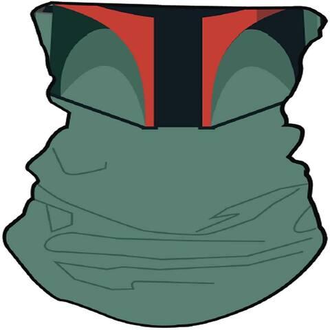 Star Wars Boba Fett Neck Gaiter