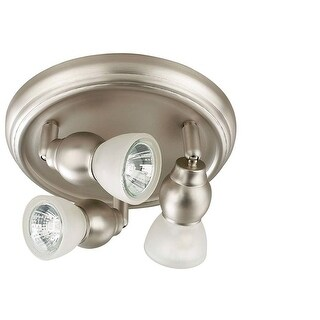 "Canarm ICW1713 Lexington 3 Light 8-3/4"" Wide Semi Flush Ceiling Fixture"