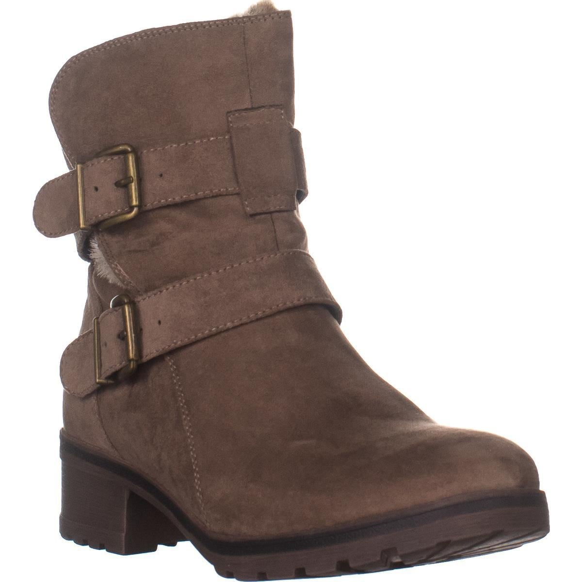 White Mountain Chastity Boots, Taupe