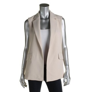 Theory Womens Vest Crepe Sleeveless