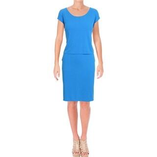Lauren Ralph Lauren Womens Wear to Work Dress Sleeveless Knee-Length
