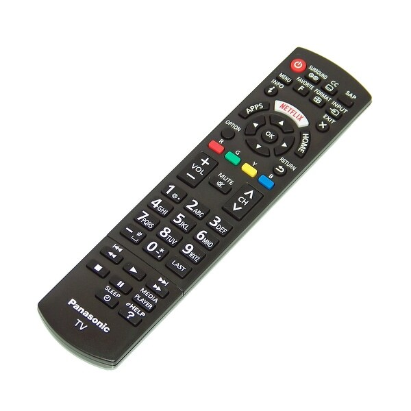 NEW OEM Panasonic Remote Control Specifically For: TCL37D2, TC-L37D2, TH32LRU5, TH-32LRU5