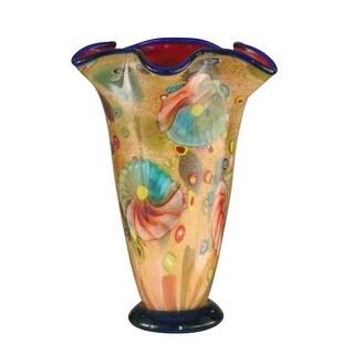 "Dale Tiffany AV12101 Coast Sand 10.5"" Vase"