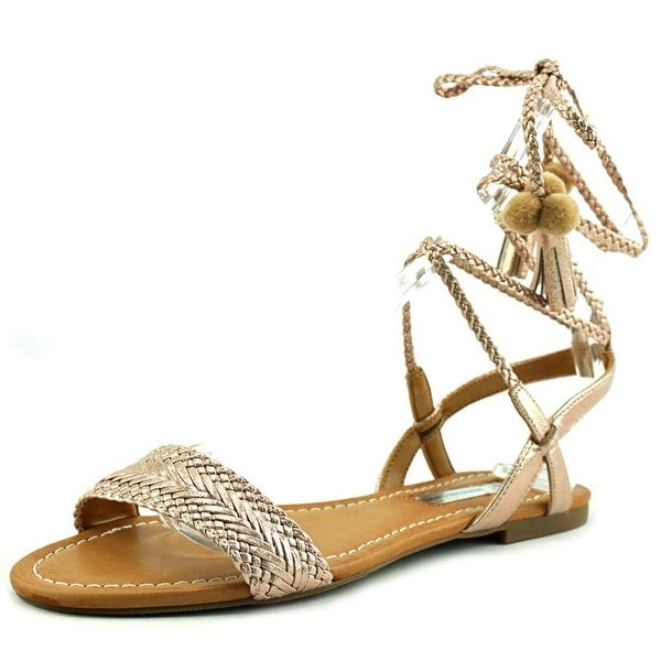 INC International Concepts Ganice 2 Women Pewter Sandals